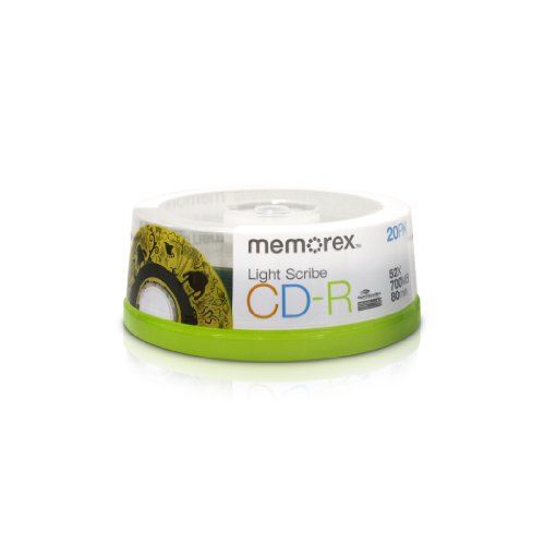 Memorex CDR Light Scribe 20pk (32024732) by Memorex