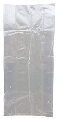 Plastic Produce Bag- Clear Unprinted Vented Produce Bags 8