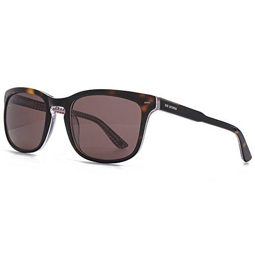 Ben Sherman Premium Pierre carré keyhole lunettes en écaille BENP002-TOR Tortoiseshell Brown