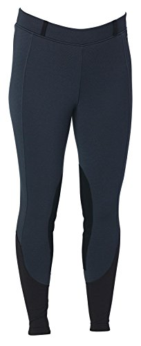 Kerrits Sit Tight 'N Warm WindPro Kneepatch Breeches Navy Medium