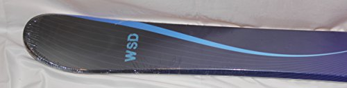 WSD Ski Boards Blue Wave Wide Ski Boards, Pair
