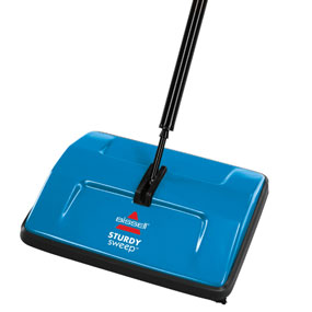 Bissell Floor Cordless Push Roller Brush Sweeper Carpet