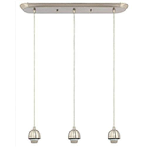 Westinghouse Lighting 6301200 Three Light Brushed Nickel Min