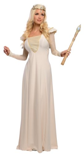 Glinda Halloween Costume Wicked (Rubie's Costume Disney's Oz The Great and Powerful Glinda costume, Gold, One Size)