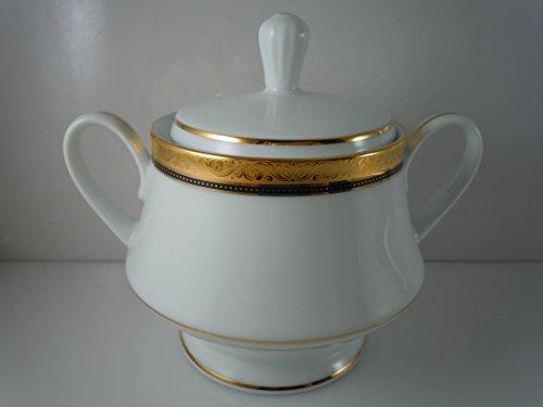 Noritake Regent Gold Sugar Bowl and Lid