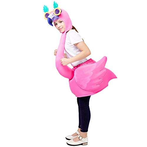 (Kid's Unisex Flamingo Costume (One Size Fit Most))