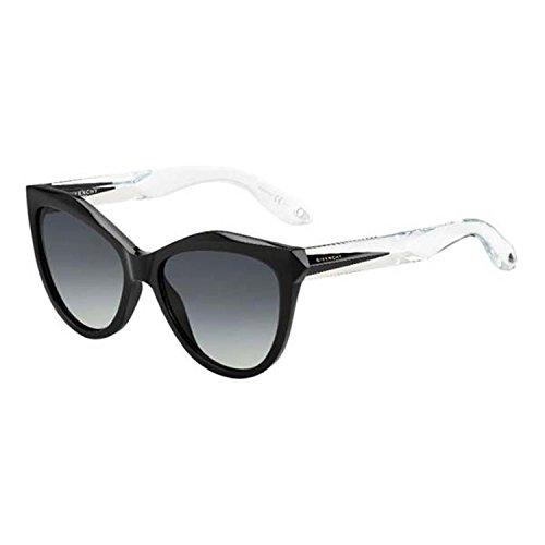 Givenchy GV 7009 color AM3 black crystal/grey shaded - Nyc Glasses Optical
