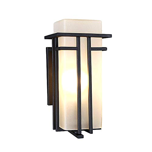 Wall Lamp, LED Square Modern Outdoor Waterproof Outdoor Balcony Garden Wall Lamp, Corridor Aisle Wall Lamp ()