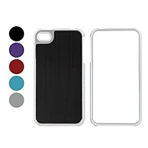HP DF Simper Style Bumper and Case for iPhone 4 and 4S (Assorted Colors) , Black