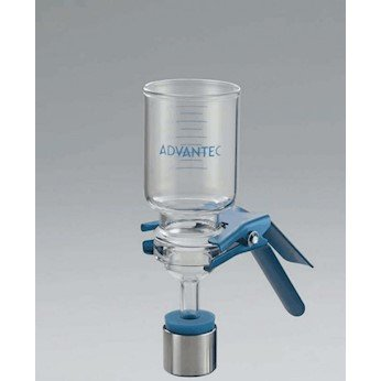 47 mm Advantec 316110 Glass Microanalysis Filter Holder PTFE Support; 1000 mL COLE-PARMER