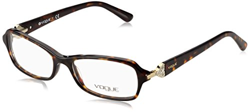 Vogue VO2789B Eyeglass Frames W656-5216 - Dark - Vogue Glasses Havana