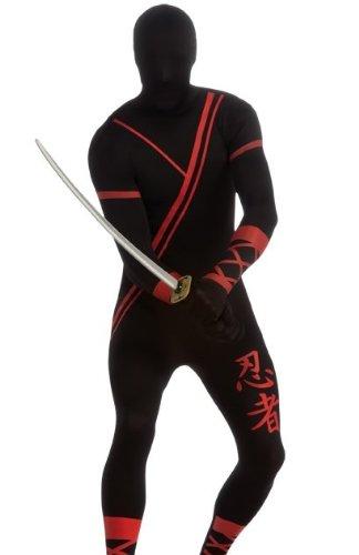 Ninja 2nd Skin Body Suit Adult Costume - X-Large -