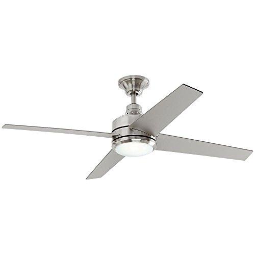 Mercer 52 in. LED Indoor Brushed Nickel Ceiling Fan (Mercer 52 In Brushed Nickel Ceiling Fan)