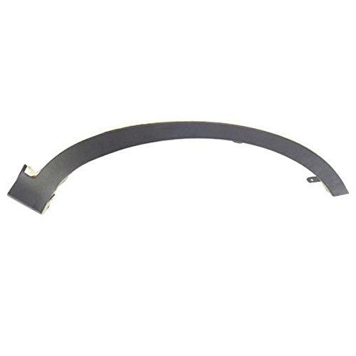 (Koolzap For 13-15 RAV4 Front Fender Flare Wheel Opening Molding Trim Black Left Driver)