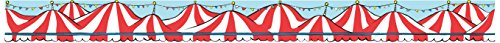 Paper Magic Eureka Dr. Seuss If I Ran The Circus Deco Trim Extra Wide Die Cut