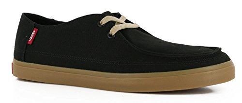 Vans Rata Vulc Sf Mens Taille 6.5 Femmes 8 Noir Gomme Chaussures De Skate