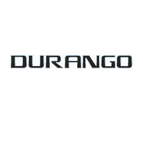 EMBLEM DURANGO FOR DODGE DURANGO CHROME WITH