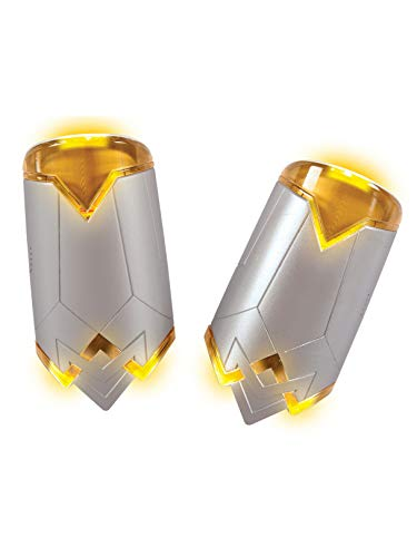 Rubie's Costume Girls Justice League Wonder Light-Up Gauntlets with Sound Effects Costume, One -