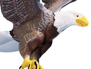 Whitehall Products Flagpole Eagle, Large, Multicolored