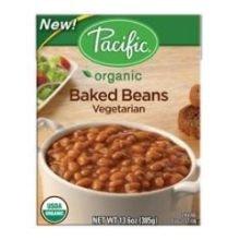 Baked Beans, 95% organic, Vegtarian, 13.6 Oz (pack of 12)