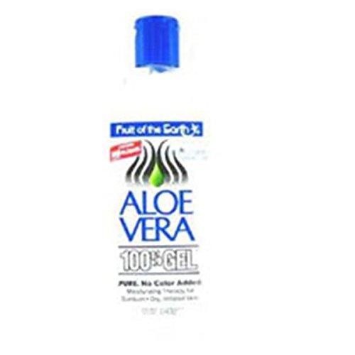 Aleo Gel Aloe Vera 100% 12oz Skin 12oz/Each Fruit of the Ear