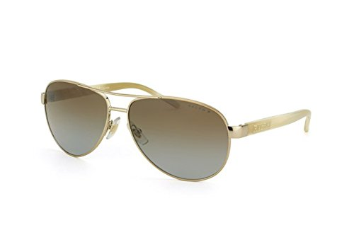 Ralph Women RA4004 Gold/Brown Sunglasses - 59 Ralphs