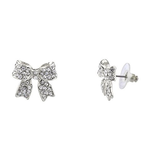 Lux Accessories Crystal Delecate Earrings product image