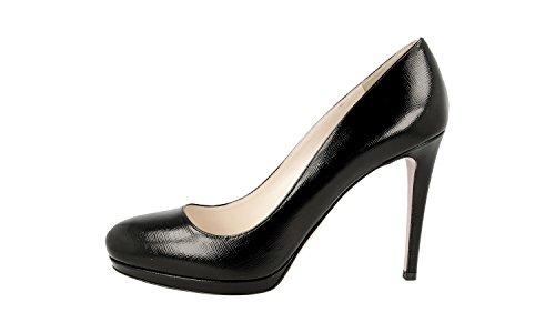 Pumps Prada Court Leather 1IP286 Shoes Saffiano Women's WvZYgO