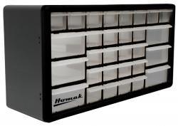 Homak HA01030102 30Drawer Parts Organizer, Black
