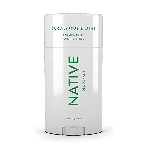 Native Deodorant - Natural Deodorant Made without Aluminum & Parabens - Eucalyptus & Mint (Best Women's Deodorant Without Aluminum)