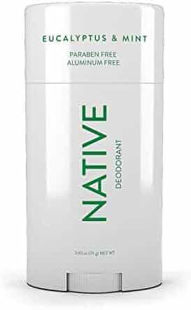 Native Deodorant - Natural Deodorant Made without Aluminum & Parabens - Eucalyptus & Mint