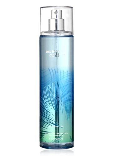 Bath Body Works Sea Island Cotton 8.0 oz Fine Fragrance Mist ()