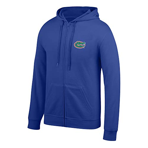 Top of the World NCAA Men's Florida Gators Lightweight Full Zip Hoodie Royal Large