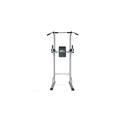 Sports Equipment Power Tower Pull Up Bar Standing Tower,Body Champ Fitness Multi function Power Tower / Multi station for Home Office Gym Dip Stands Pull Up Space Saving, Crystal Fit SJ-500 by Acando