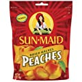 Sunmaid California Peaches, 6 OZ (Pack of 12) from Sun-Maid