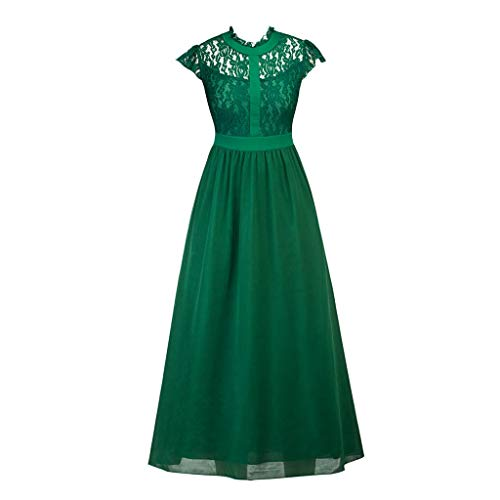 Women's Long Evening Dress Empire Bridesmaid Dress with Openwork Maxi Dress Maxi Dress Toponly