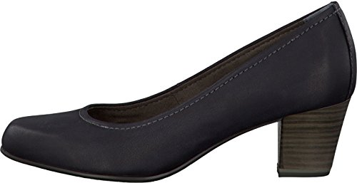 Tamaris - Zapatos de cuero para mujer Negro - negro