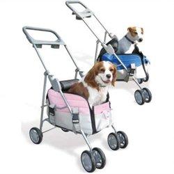 Pet Valet Pet Stroller / Carrier in Pink