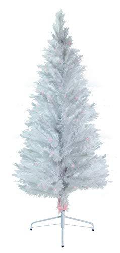 6' White Fiber Optic Artificial Christmas Tree