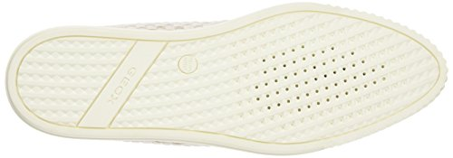 Geox D Amalthia B - Zapatillas para mujer Blanco (Off White)