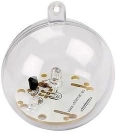Kit electrónico de bola de LED RGB, transición, para personalizar y montar