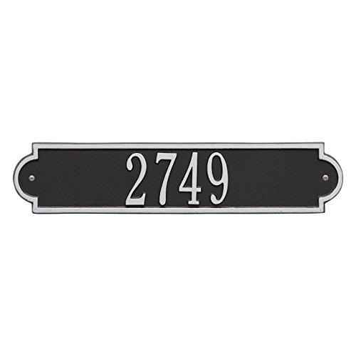 "Custom Richmond Standard Wall Address Plaque 19""W x 4""H (1 Line) (Standard Plaque Address Wall)"
