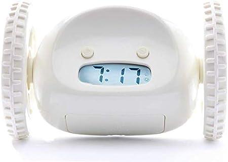 Sveglia con le ruote che ti costringe ad alzarti dal letto electronic clock TENG WEI DIAN