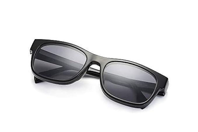 Unisex Da Flip Miopia A Specchio Sole Polarizzati Double-face Retro Occhiali