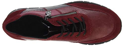 Rieker 35 N5620 Sneaker red Donna Rosso vwS17rqBwc