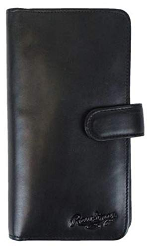 - Rawlings Unisex Universal Magnetic Leather Phone Wallet With Tab, Black