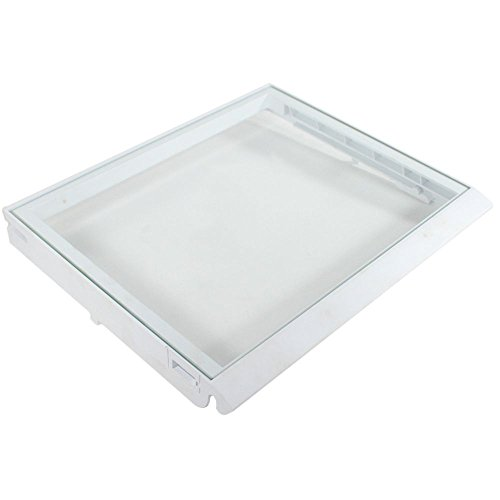 Refrigerator Shelf Crisper Cover w/ Glass - W10508993