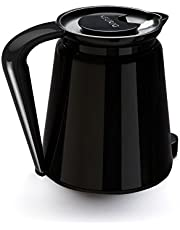 Keurig 2.0 Plastic Carafe 32oz Double-Walled with Easy-Pour Handle, Holds and Dispenses Up to 4 Cups of Hot Coffee, Compatible With Keurig 2.0 K-Cup Pod Coffee Makers, Black