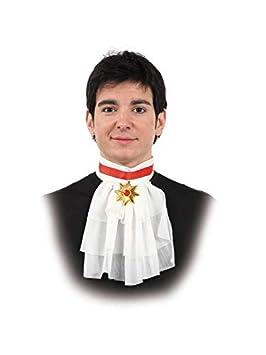 DISBACANAL Chorreras con escarapela de Dracula: Amazon.es ...