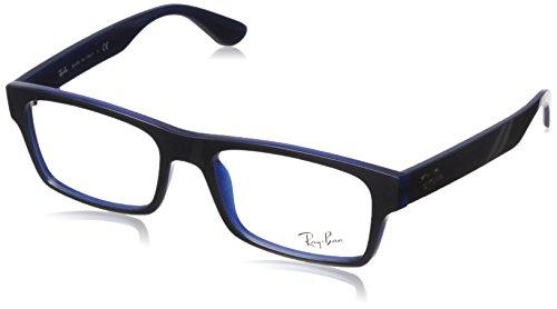 Ray Ban RX7030 Eyeglasses-5397 Top Gray On Dark - Gray Ban Ray Eyeglasses